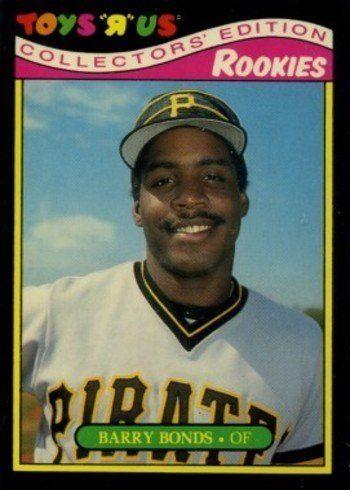 1987 Toys R Us Rookies #4 Barry Bonds Baseball Card