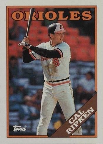 1988 Topps #650 Cal Ripken Jr. Baseball Card