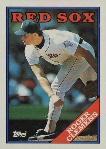 1988 Topps #70 Roger Clemens Baseball Card