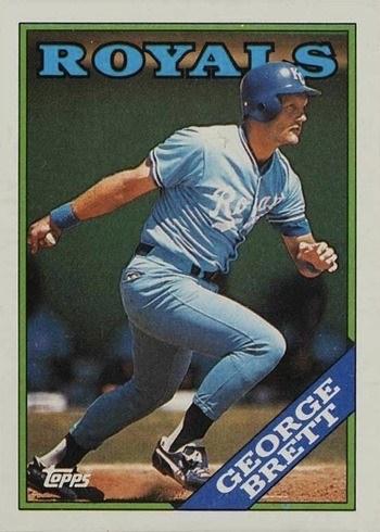 1988 Topps #700 George Brett Baseball Card