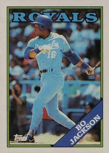 1988 Topps #750 Bo Jackson Baseball Card