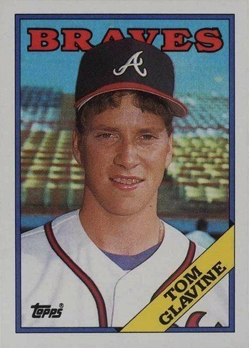1988 Topps #779 Tom Glavine Rookie Card