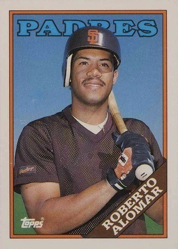 1988 Topps Traded #4T Roberto Alomar Rookie Card