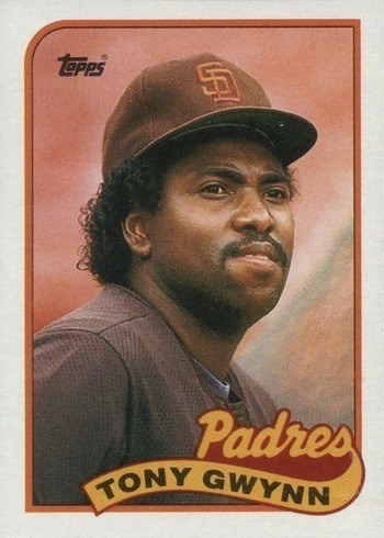 1989 Topps #570 Tony Gwynn Baseball Card