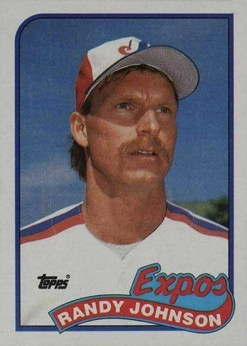 1989 Topps #657 Randy Johnson Rookie Card