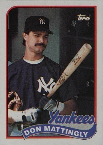 1989 Topps #700 Don Mattingly Baseball Card