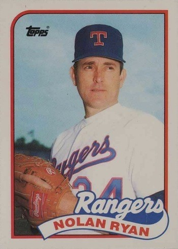 1989 Topps Traded #106T Nolan Ryan Baseball Card