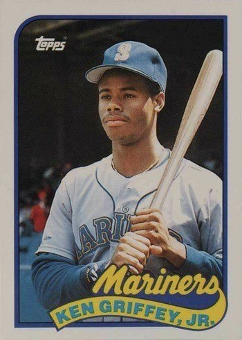 1989 Topps Traded #41T Ken Griffey Jr. Rookie Card