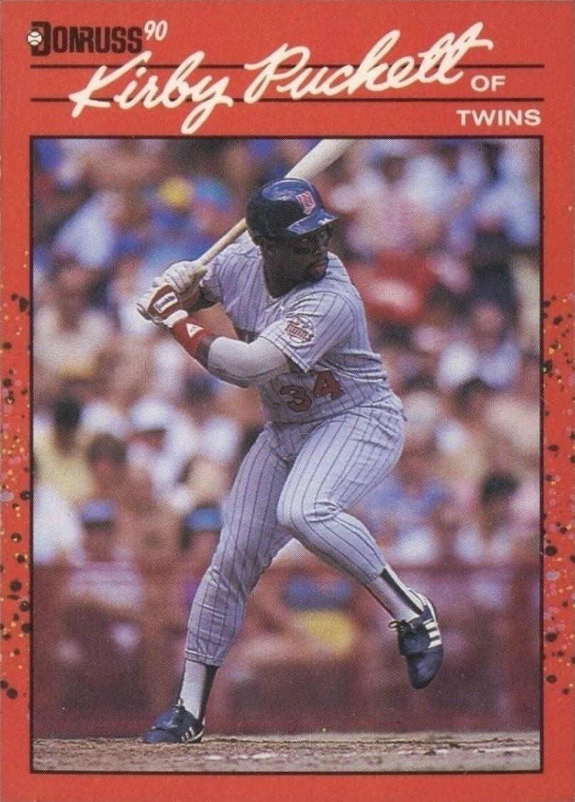 1990 Donruss #269 Kirby Puckett Baseball Card
