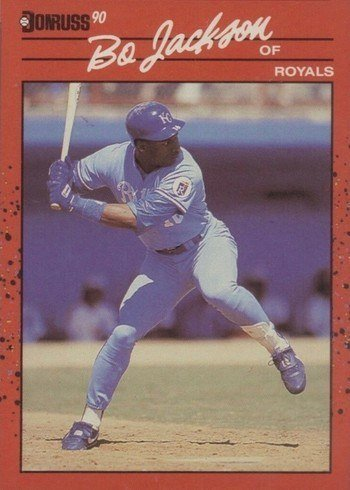1990 Donruss #61 Bo Jackson Baseball Card