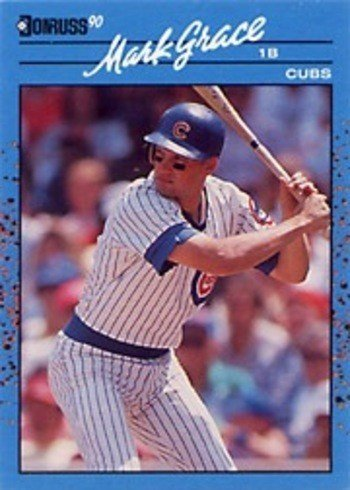 1990 Donruss NL Best #51 Mark Grace Baseball Card