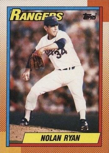 1990 Topps #1 Nolan Ryan Baseball Card
