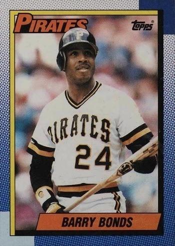1990 Topps #220 Barry Bonds Baseball Card