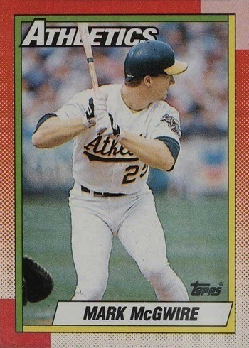 1990 Topps #690 Mark McGwire Baseball Card