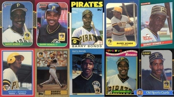 Most Valuable Barry Bonds Rookie Cards