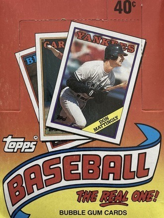 Unopened Box of 1988 Topps Baseball Cards