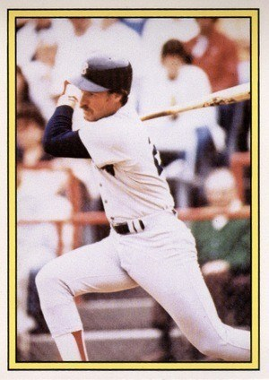 1983 KG Graphics Glossy Wade Boggs