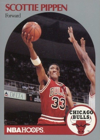 1990 NBA Hoops #69 Scottie Pippen Basketball Card