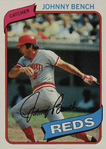1980 Topps #100 Johnny Bench Baseball Card