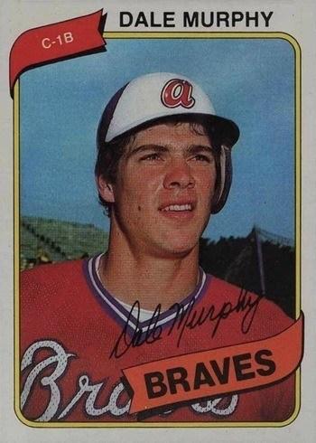 1980 Topps #274 Dale Murphy Baseball Card