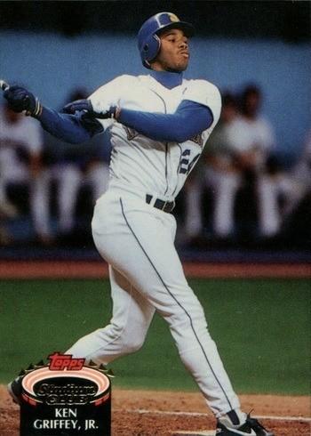 1992 Topps Stadium Club #400 Ken Griffey Jr. Baseball Card