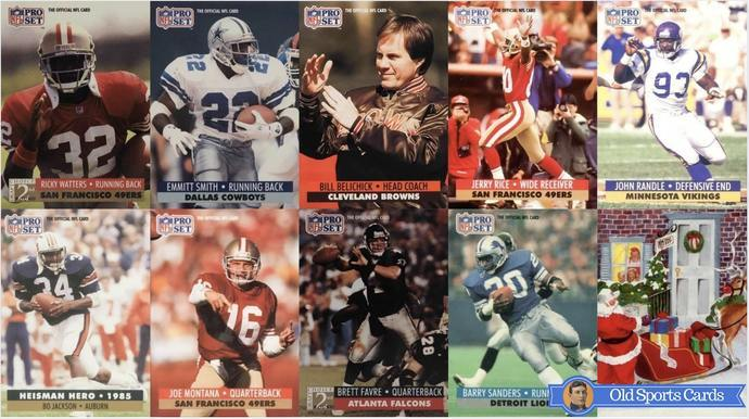 Most Valuable 1991 Pro Set Football Cards