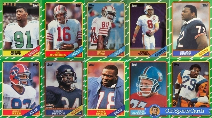 Most Valuable 1986 Topps Football Cards