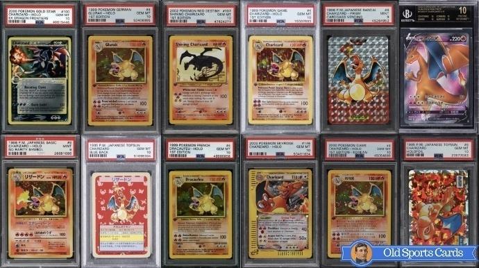 Most Expensive Charizard Pokemon Cards